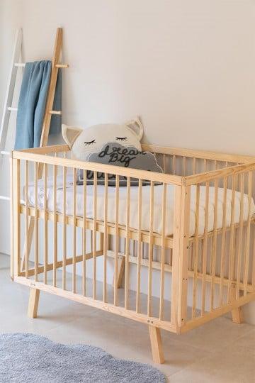 Lit de bébé en bois pour enfants Tianna