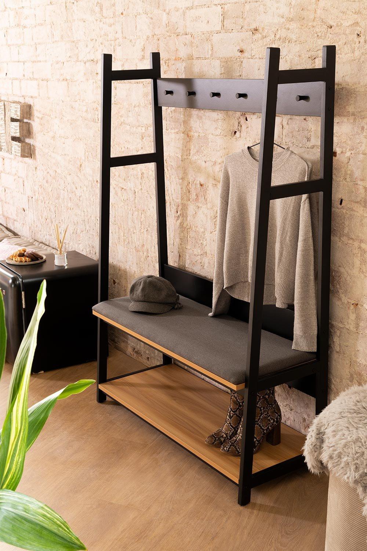Couloir avec porte-manteau et porte-chaussures Füst, image de la galerie 1