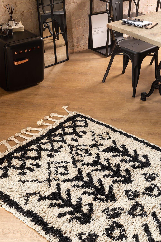 Tapis en coton (190x122 cm) Tiduf, image de la galerie 1