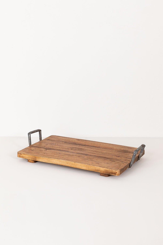 Support en bois recyclé Baka, image de la galerie 1