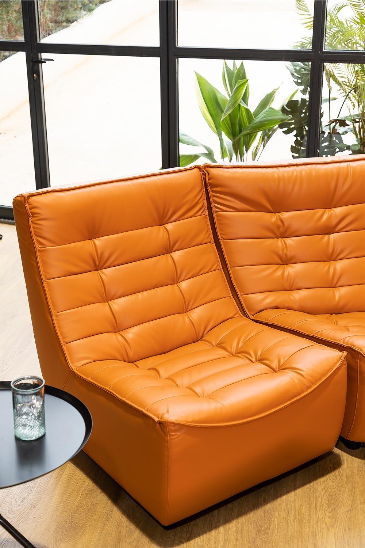 Modules de canapé en similicuir Artis, image de la galerie 1