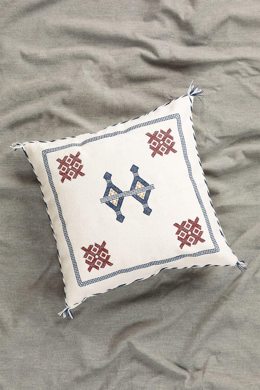 Coussin carré en coton (50x50 cm) Royn, image de la galerie 1