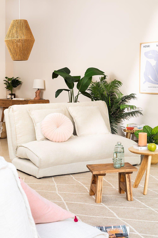 Canapé-lit 2 places en tissu Salma, image de la galerie 1