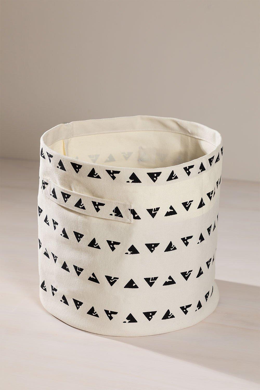 Panier en coton Molp, image de la galerie 1