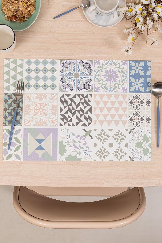 Set de table en vinyle Zule, image de la galerie 1