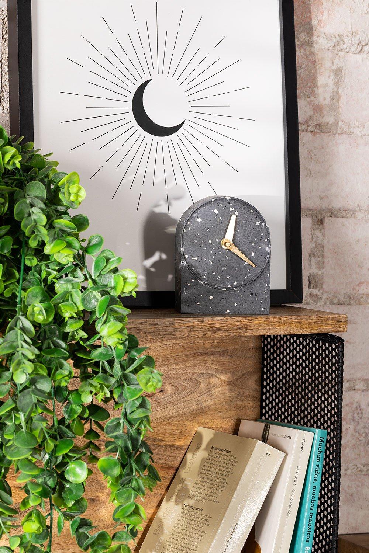 Horloge de table en ciment Enpunt, image de la galerie 1