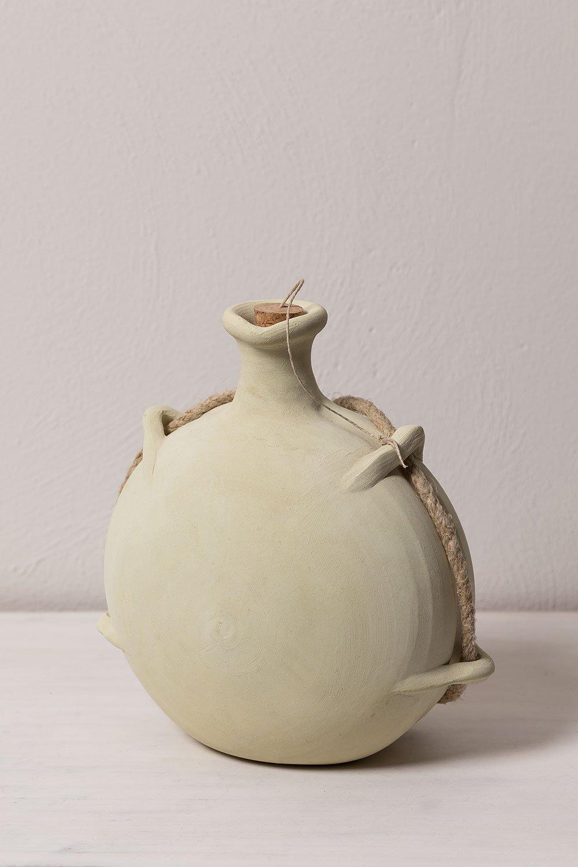 Bouteille d'eau en argile Nora, image de la galerie 1