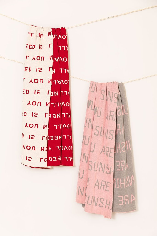 Couverture en coton Soli, image de la galerie 1