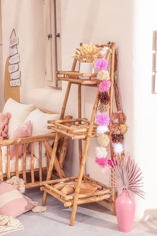 3 étagères en bambou Oki, image de la galerie 1