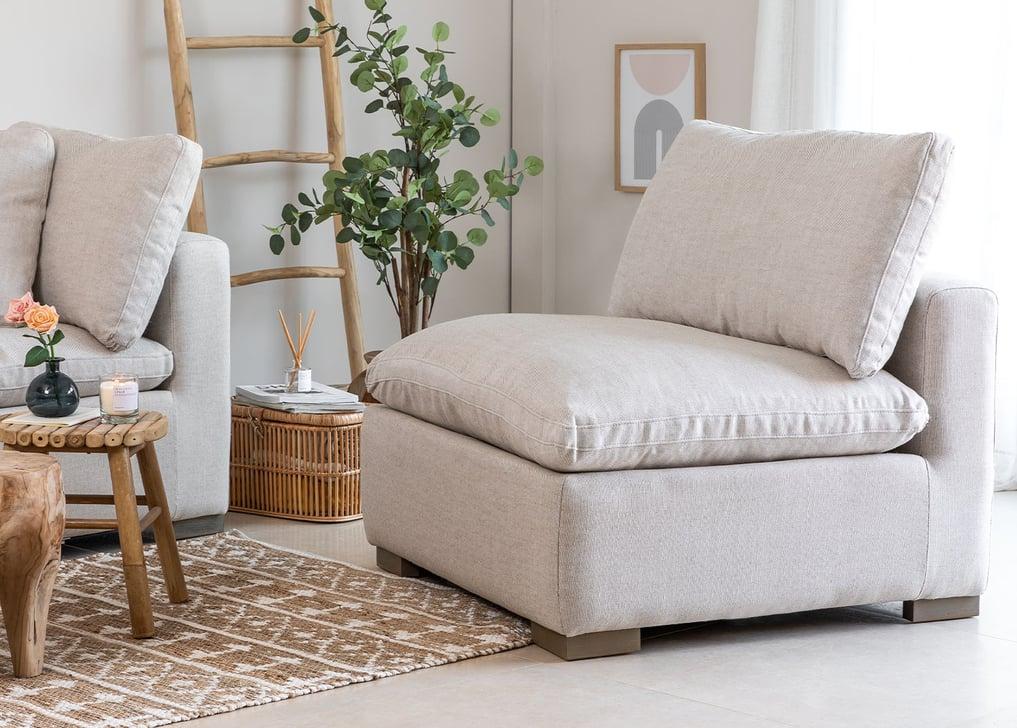 Modules de canapé en lin Belah, image de la galerie 1