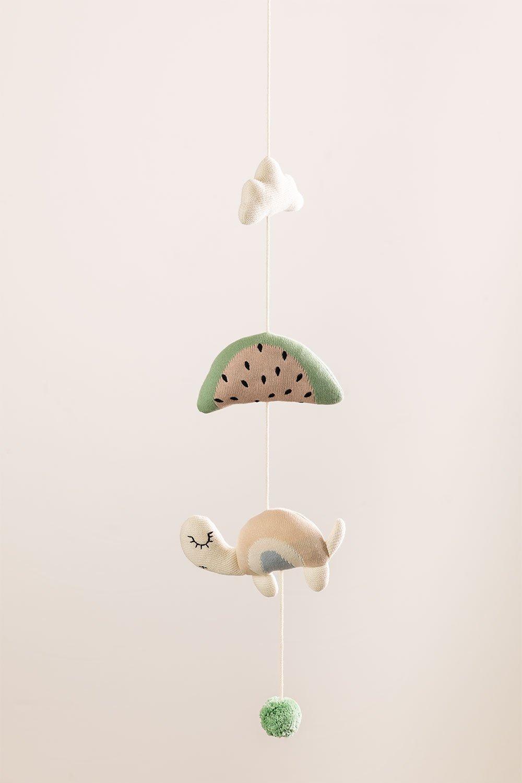 Mobile pour lit bébé Tirsa pour enfants en coton, image de la galerie 1