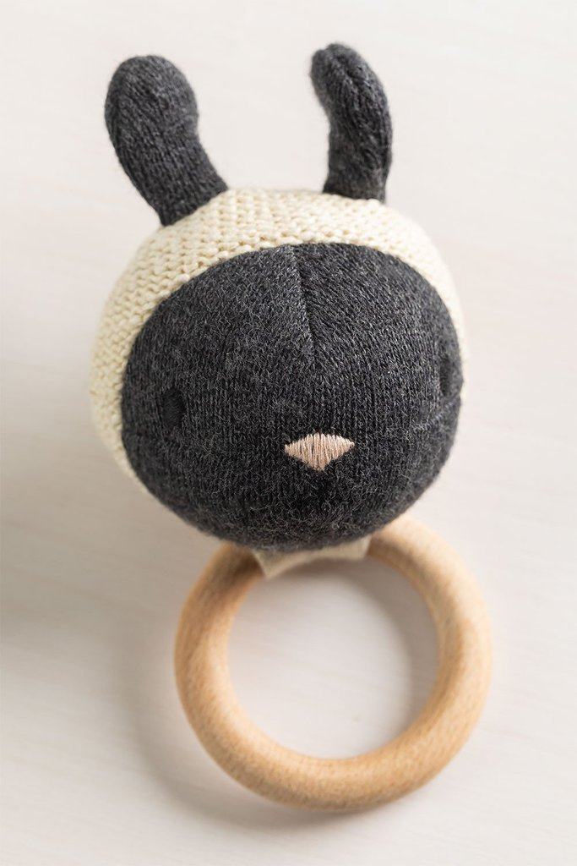 Hochet en coton pour enfants Lambert , image de la galerie 1