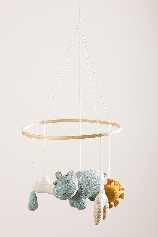 Carrousel pour lit bébé en coton Binca Kids, image de la galerie 1