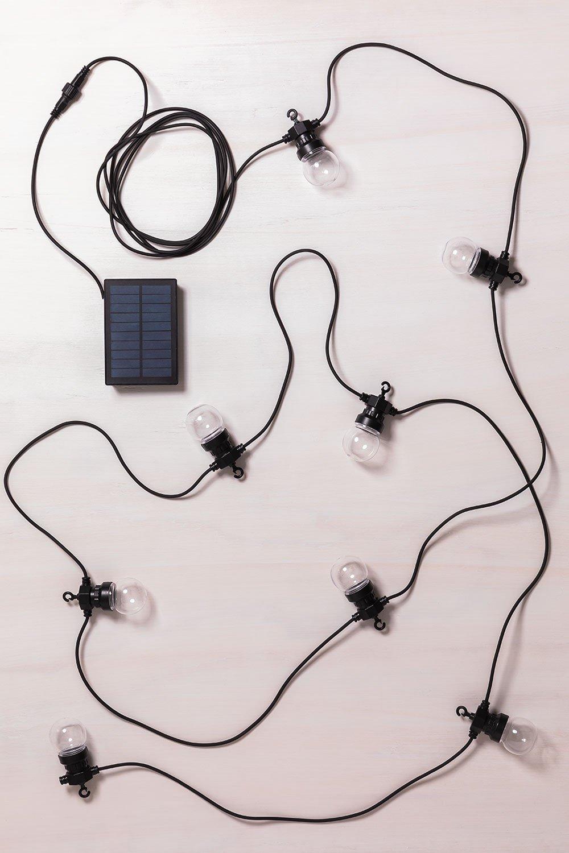 Guirlande solaire à LED (7 m) Borat, image de la galerie 982960