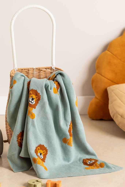 Couverture en coton pour enfants Meru, image de la galerie 1