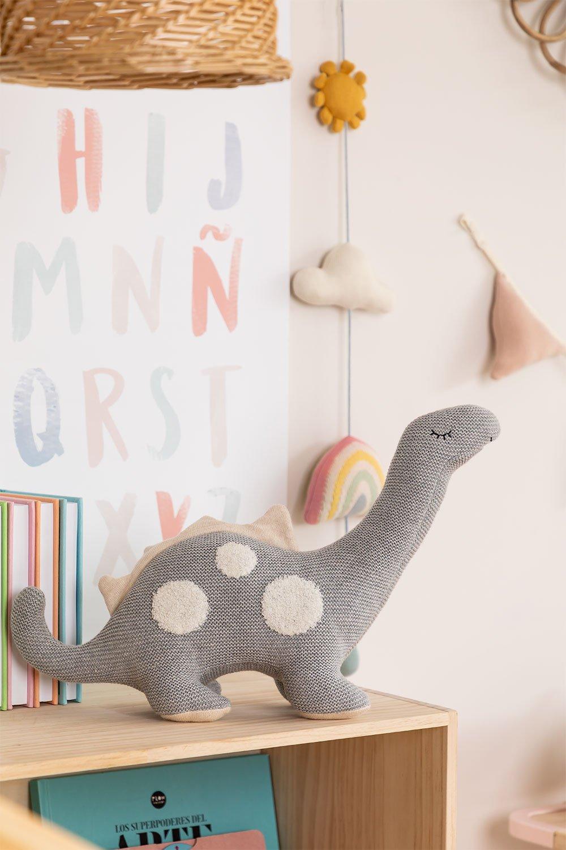 Foosil Kids Animal en peluche de coton, image de la galerie 1