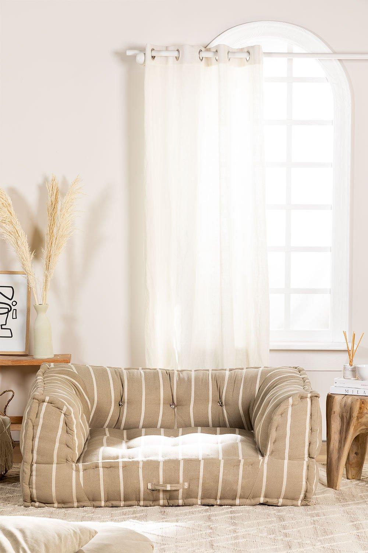 Canapé modulable en coton Dhel Boho, image de la galerie 1