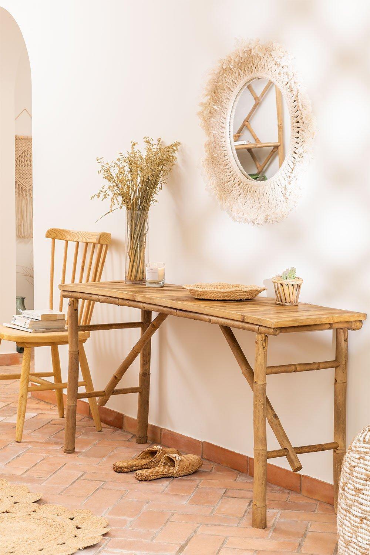 Table d'extérieur en bambou Marie, image de la galerie 1