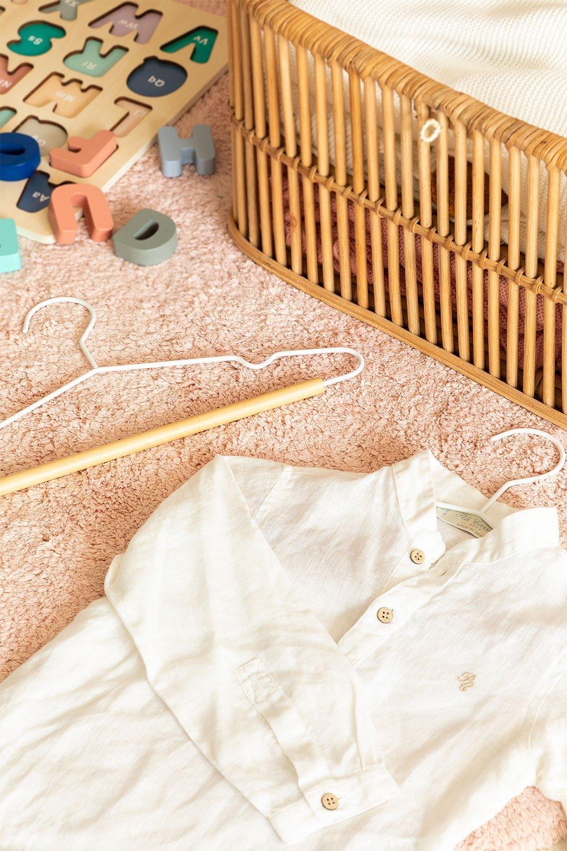 Ensemble de 2 cintres pour enfants Corin, image de la galerie 1