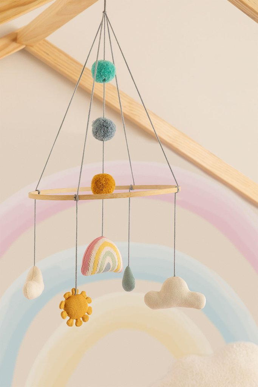 Carrousel pour lit de bébé Izaro en coton pour enfants, image de la galerie 1