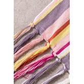 Plaz Plaid Blanket in Cotton , thumbnail image 3