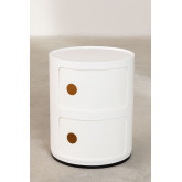 Round Side Table with Shelves Babel 02, thumbnail image 3