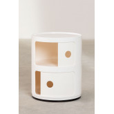 Round Side Table with Shelves Babel 02, thumbnail image 4