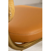 Tento Gold Leatherette Dining Chair, thumbnail image 6