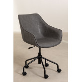 Leatherette Desk Chair  Lucy , thumbnail image 3