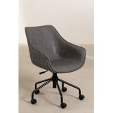 Leatherette Desk Chair  Lucy , thumbnail image 4