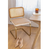 Tento Gold Vintage Dining Chair, thumbnail image 1