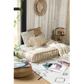 Double Cushion for Modular Sofa in Cotton Dhel Boho, thumbnail image 1