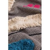 Leko Plaid Blanket in Cotton , thumbnail image 3