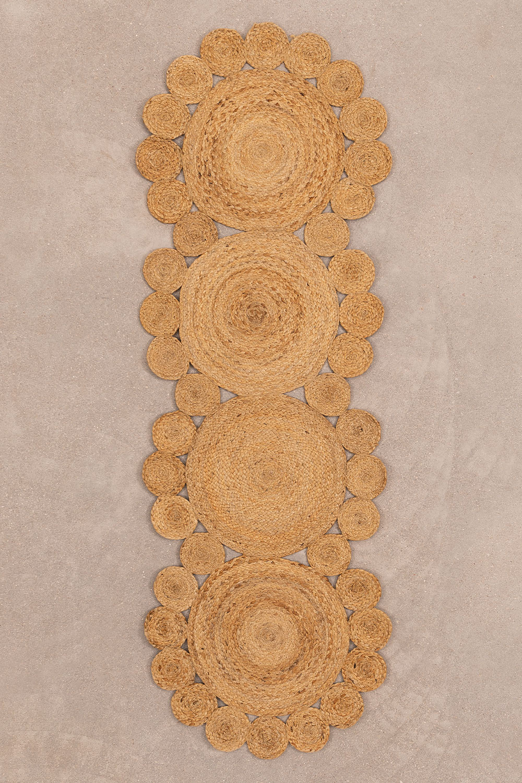 Natural Jute Rug (180x60 cm) Otilie, gallery image 1