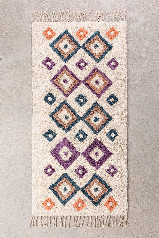Cotton Rug (162x72 cm) Gorka, gallery image 1
