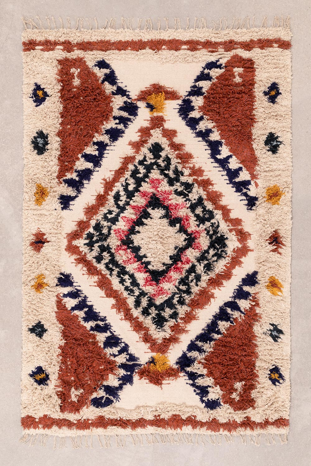 Cotton and Wool Rug (185x120 cm) Manit, gallery image 1