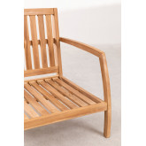 Garden Armchair in Teak Wood Confi, thumbnail image 4