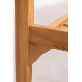 Aivan Teak Wood Garden Chair, thumbnail image 6