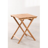 Garden Table (60x60 cm) in Nicola Teak Wood, thumbnail image 2