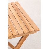 Garden Table (60x60 cm) in Nicola Teak Wood, thumbnail image 4