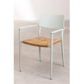 Pack 2 Amadeu Aluminum Garden Chairs, thumbnail image 3