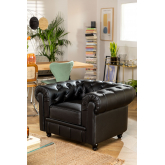 Chester Sytle Leatherette Sofa Charly, thumbnail image 5