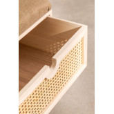 Wooden Bench with 2 Drawers Ralik Style, thumbnail image 5