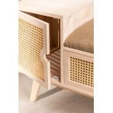 Wooden Bench with Storage Ralik Style, thumbnail image 4
