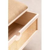 Wooden Bench with Storage Ralik Style, thumbnail image 5