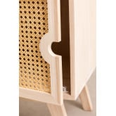 Nightstand with Wooden Storage Ralik Style, thumbnail image 5