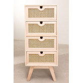 Ralik Style Wooden Chest of Drawers, thumbnail image 3