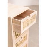 Ralik Style Wooden Chest of Drawers, thumbnail image 4