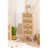 Ralik Style Wooden Chest of Drawers, thumbnail image 1