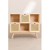 Ralik Style Wooden Sideboard with Drawers, thumbnail image 4